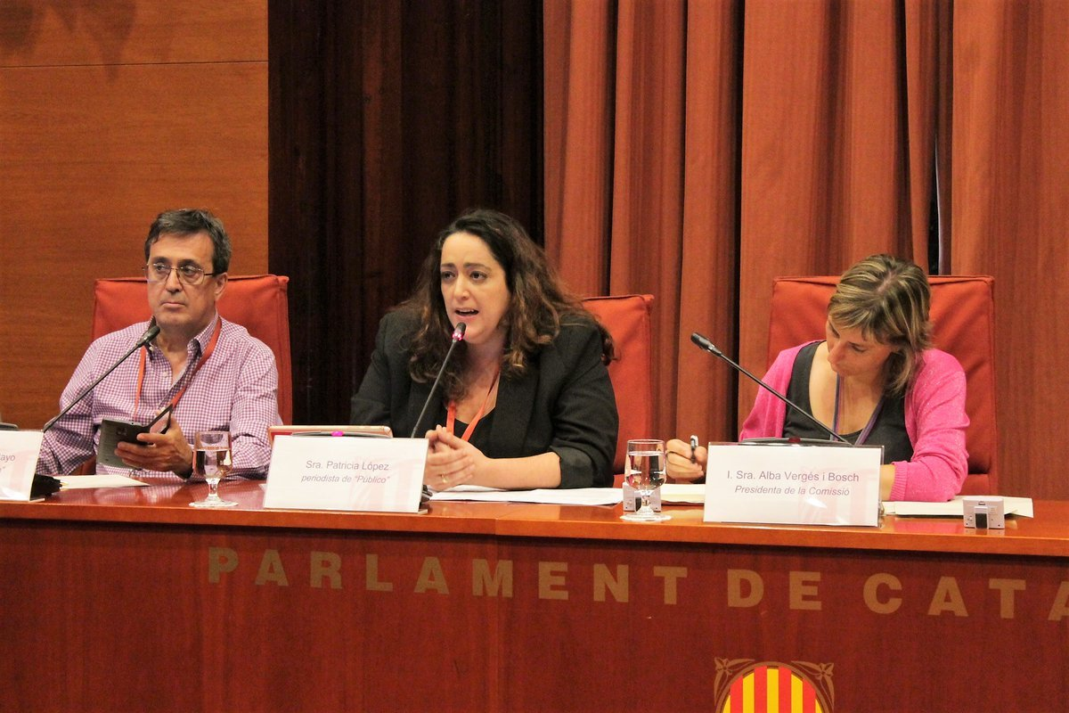 periodistes publico operacio catalunya twitter parlament