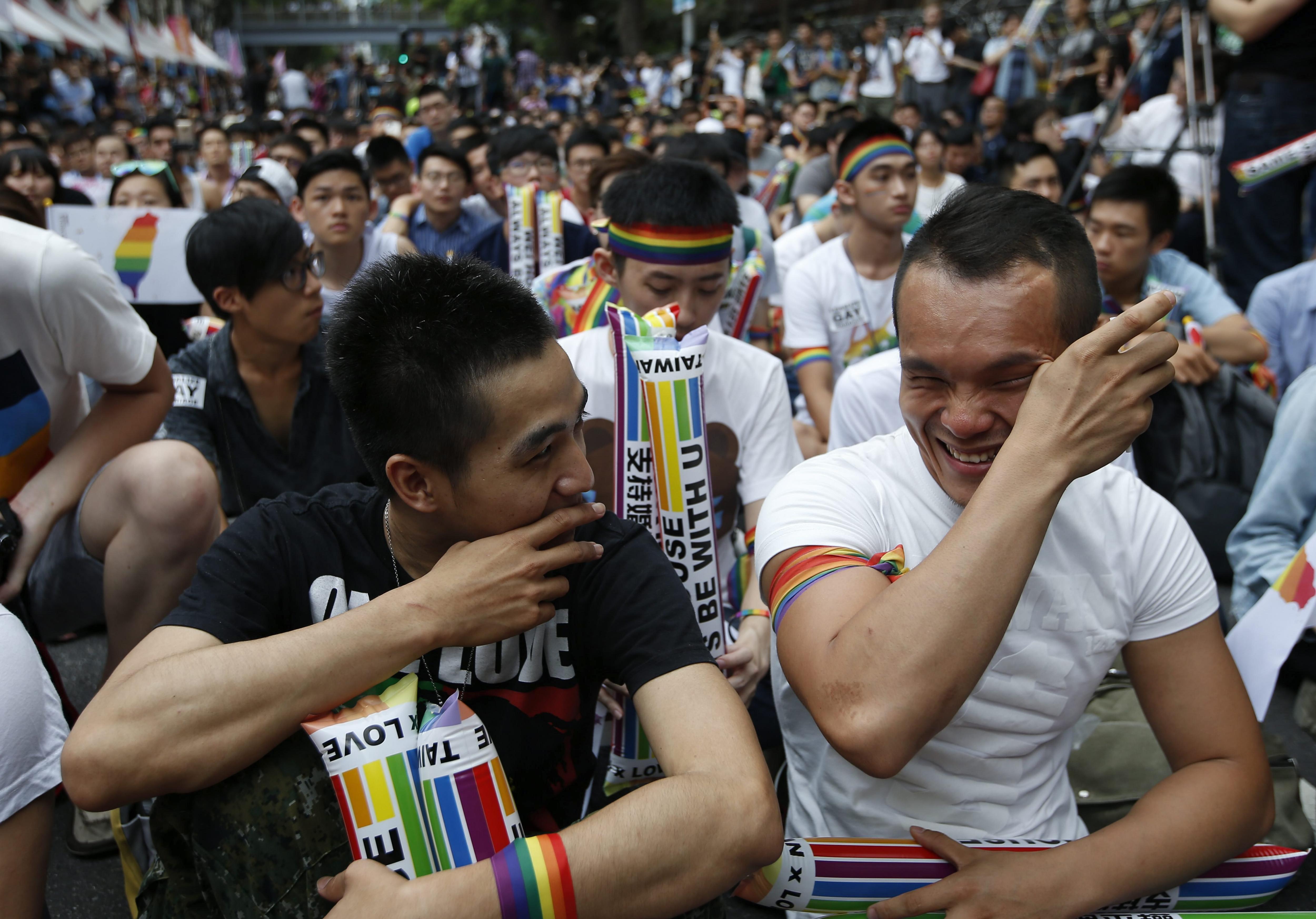 casament homosexuals taiwan efe