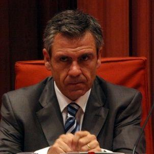 Daniel de Alfonso, mentre és avaluat per la Comissió d'Afers Institucionals per poder ser director de l'Oficina Antifrau de Catalunya. ACN