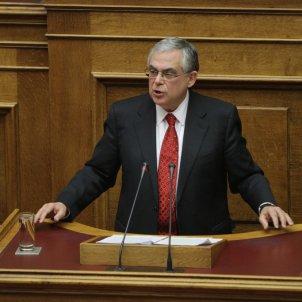 Lucas Papademos   Plenary Hall, Parliament 16 November 2011 (6)