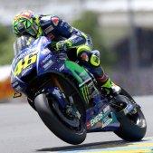 Rossi Yamaha Moto GP Le Mans EFE