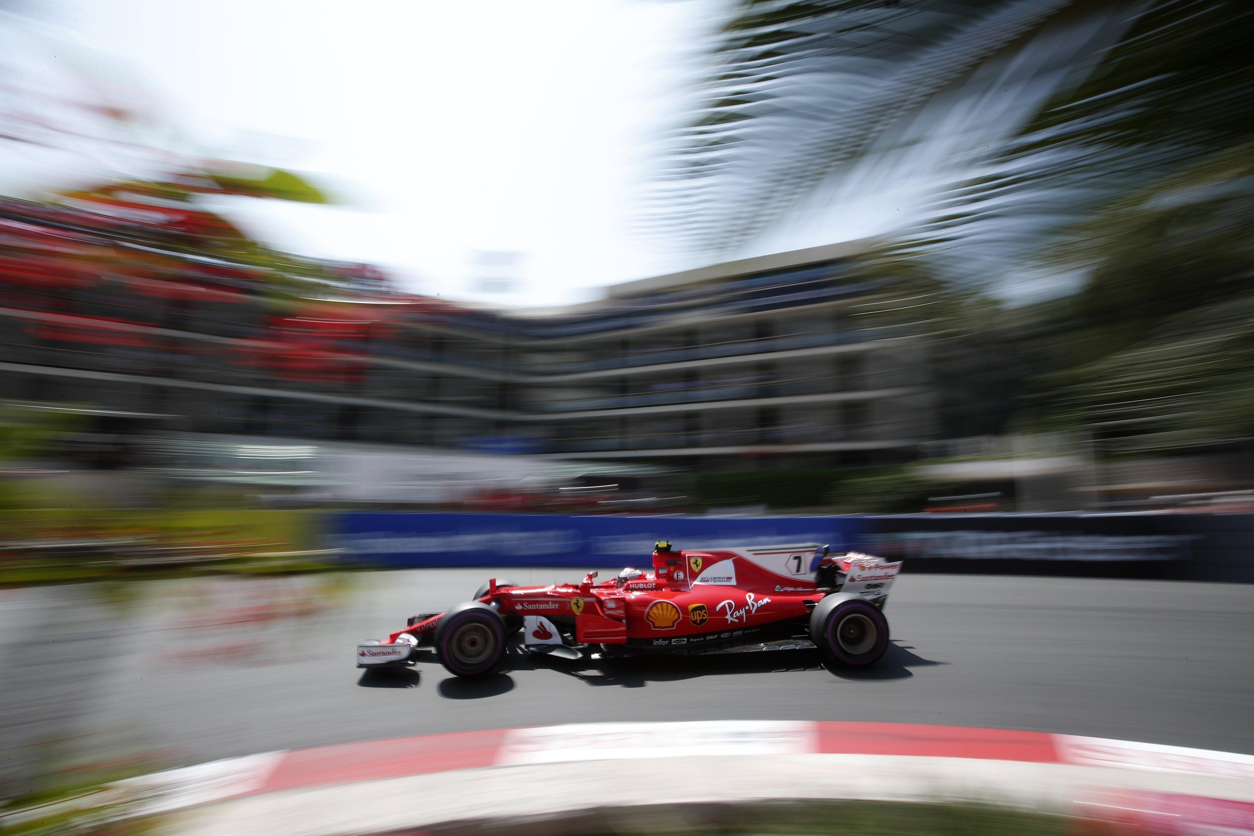Kimi Raikkonen GP Mònaco Fórmula 1 Efe