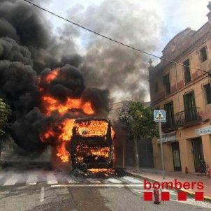 Incendi bus Igualada 2