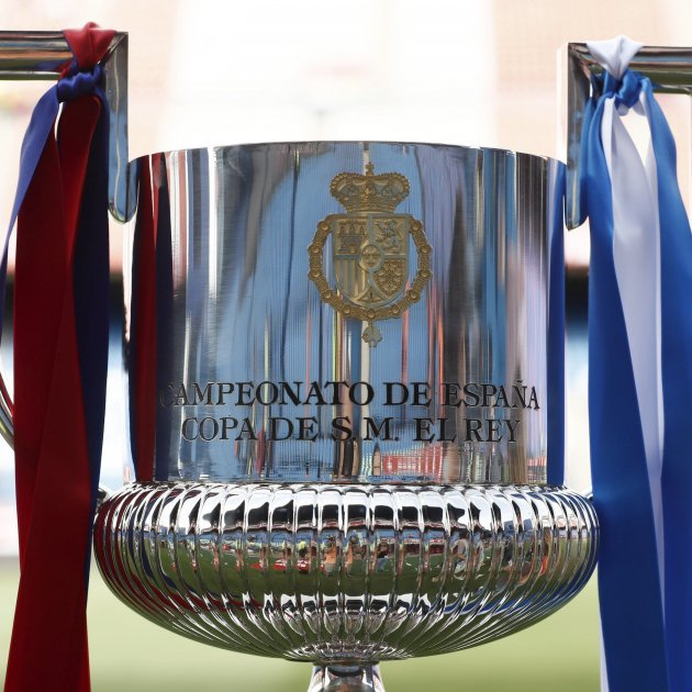 Copa del Rei Barça Alabes trofeu Vicente Calderon   EFE
