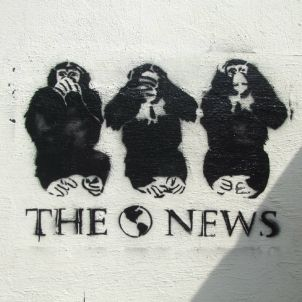 Three Wise Monkeys the news Graham C99 1500px