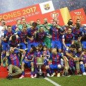 Celebracio Barça Alabes Copa Rei   EFE