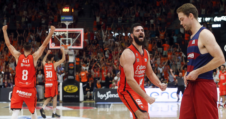 Barça Lassa Valencia Basket   EFE