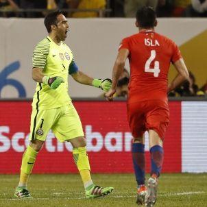 Claudio Bravo Xile Colòmbia Copa Amèrica Efe