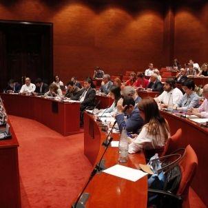 comissio institucional parlament
