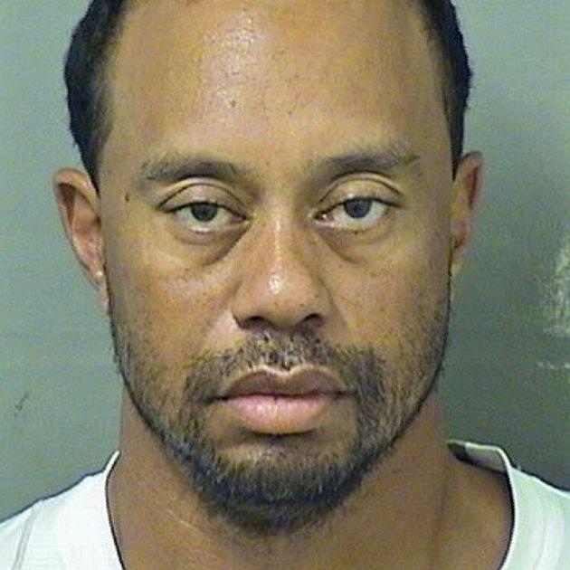 Tiger Woods golf detingut Efe
