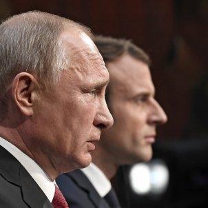 Putin Macron - EFE