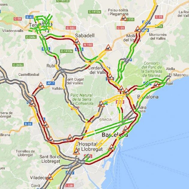 Mati Negre Per Al Transport A Barcelona