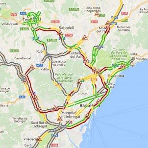 mapa transit gencat transit