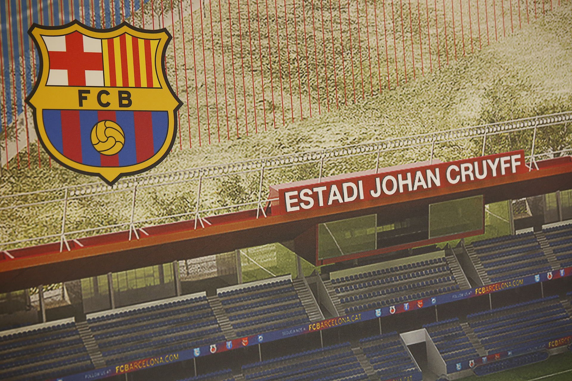 Escut Barça fcb estadi Johan Cruyff - Sergi Alcàzar
