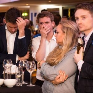 Brèxit opositors joves desolats
