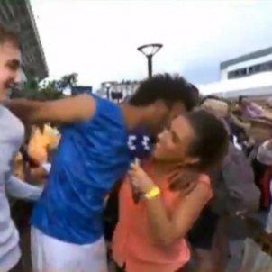 Tennis Maxime Hamou Roland Garros assetjament Captura pantalla