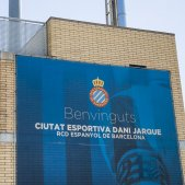 Escut Espanyol ciutat esportiva Dani Jarque - Sergi Alcàzar