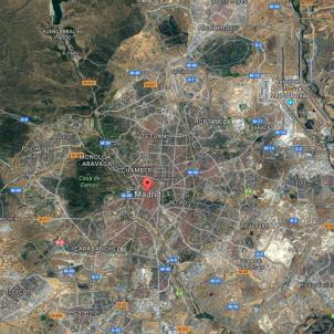 madrid google maps