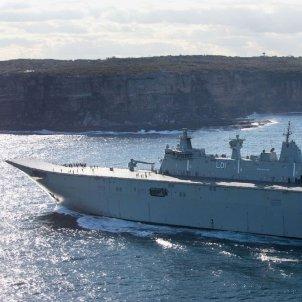 HMAS Adelaide australia militar vaixell armada AustralianNavy
