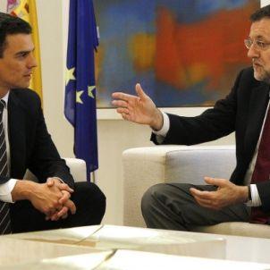 Rajoy Sánchez Moncloa HOME