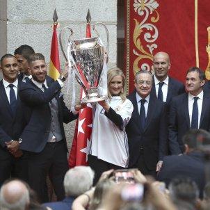 Celebració Champions Madrid EFE