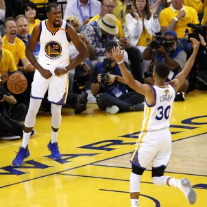 Kevin Durant Stephen Curry NBA Efe