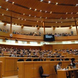 Pleno del Senado de España en la nueva sede