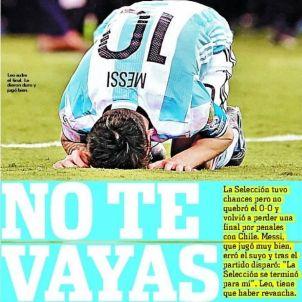 Olé Argentina Xile Copa Amèrica