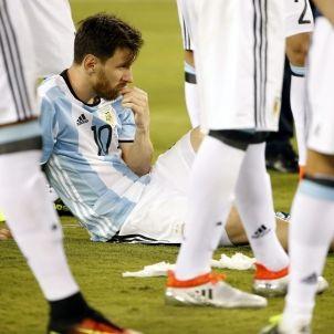 Leo Messi Argentina Xile Copa Amèrica Efe