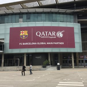 Qatar Airlines Patrocini Barça - Bernat Aguilar