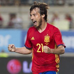 David silva celebracio gol espanya colombia amistos   efe