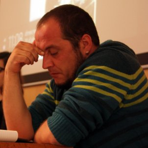 David Fernández, exdiputado de la CUP / ACN