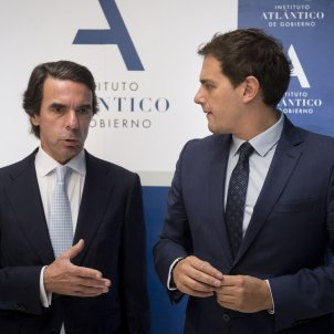 Aznar i RIvera EFE