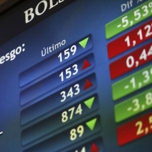 Prima de riesgo-Bolsa-España-efe