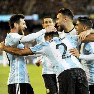 Argentina Messi celebració Efe