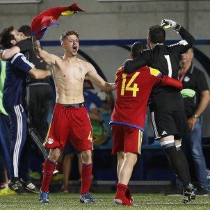 Andorra victoria Hongria classificacio Mundial   EFE