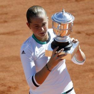 Jelena Ostapenko Roland Garros EFE