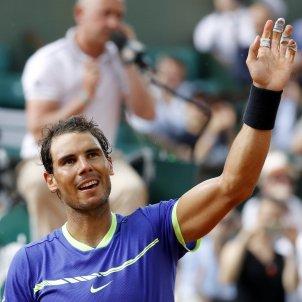 Rafa Nadal celebracio victoria Roland Garros   EFE