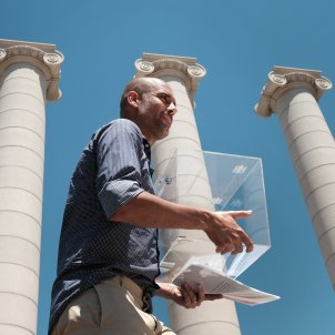 Pep Guardiola urna referendum - Sergi Alcàzar