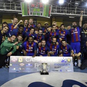 Barça Lassa Handbol Copa del Rei EFE