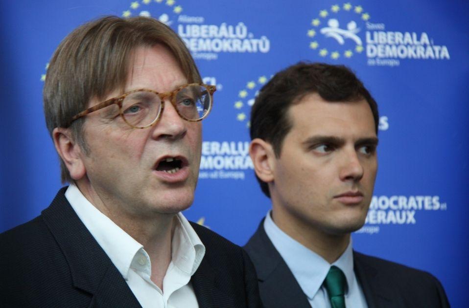 Verhofstadt Rivera ALDE - ACN
