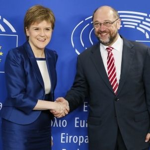 Sturgeon Schulz Parlament Europeu