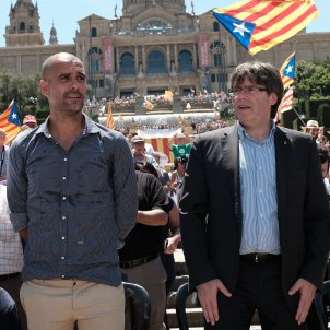 Guardiola Puigdemont referendum - Sergi Alcàzar