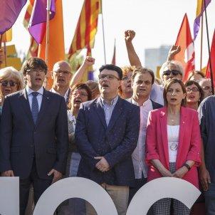 Nuet mesa Forcadell Puigdemont TSJC -Sergi Alcàzar
