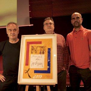Sergi Pàmies Ferran Adrià Pep Guardiola Sergi Alcàzar