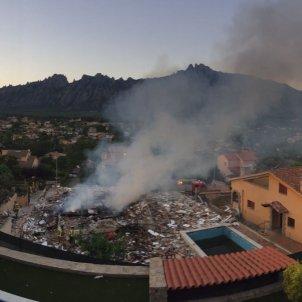 Explosió a una casa de Collbató / Albert Acín