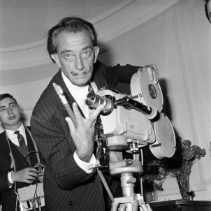 XL03 Dalí, amb càmera de cinema a Madrid