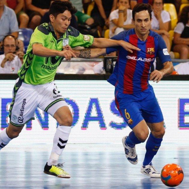 Barça contra Inter Movistar Futsal Efe
