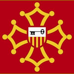 Bandera oficial d'Aran. Font Arxiu d'El Nacional