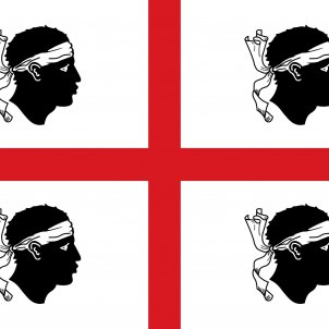 Bandera de Sardenya. Font Wikipedia Itàlia